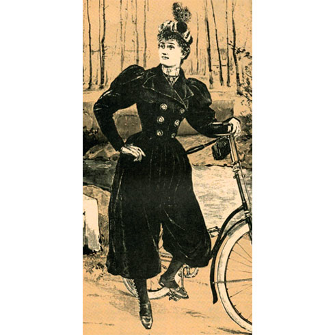 Советы велосипедисткам конца XIX столетия