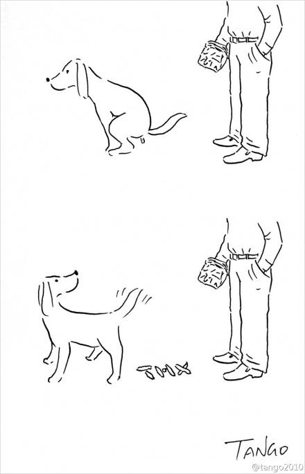 Остроумные комиксы художника Tango