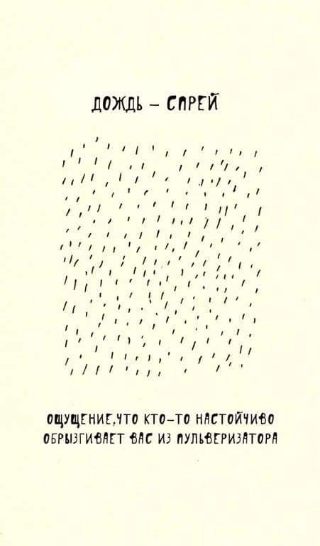 Виды дождя в Санкт-Петербурге