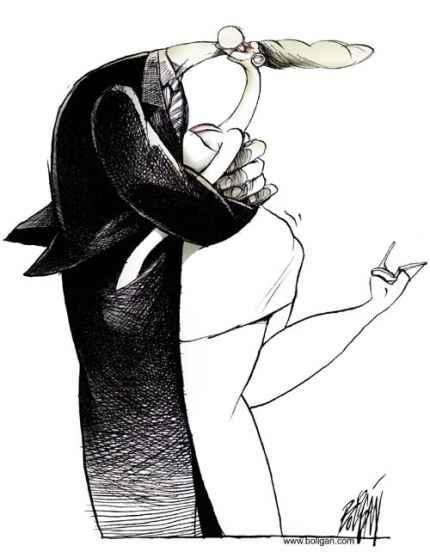 Карикатурист Ангель Болиган
