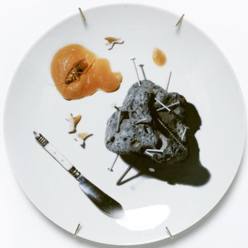 3D рисунки на посуде