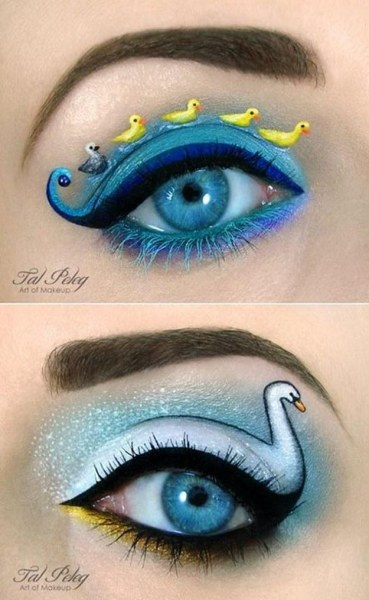 Сказочный макияж от Таль Пелег