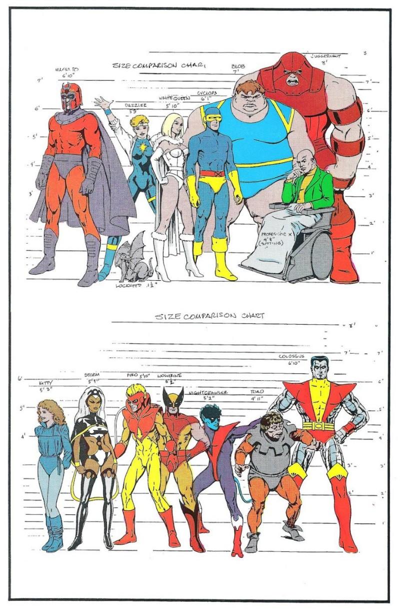 Наброски известных мульт персонажей