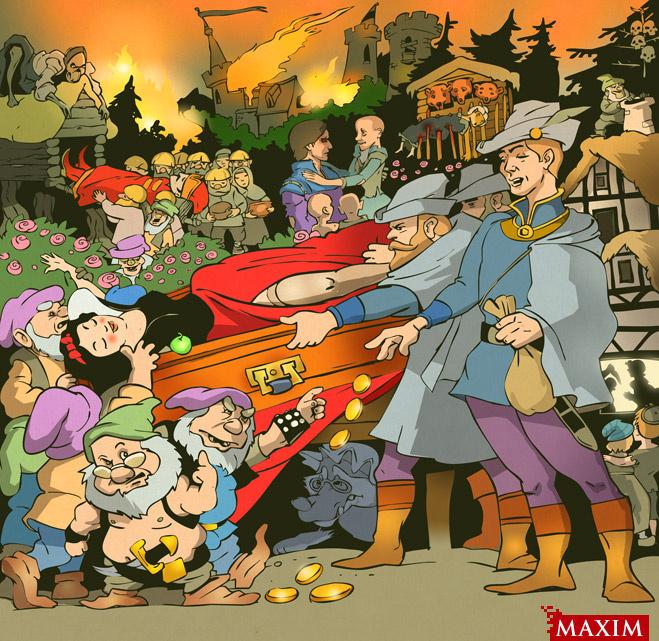 О чем на самом деле рассказывается в добрых детских сказках