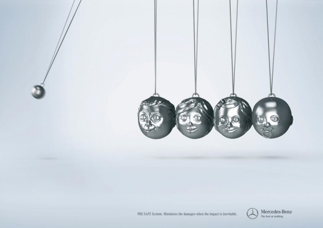 Лаконичная реклама