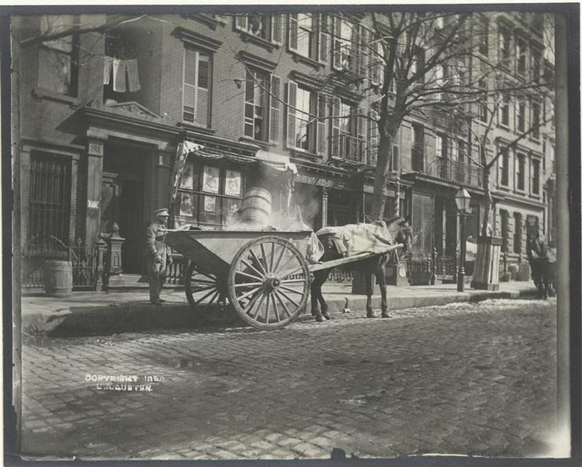 Нью-Йорк конца 19 века