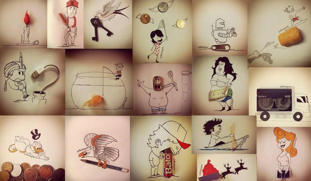 Веселые картинки в проекте Illustragram