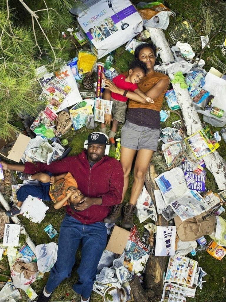 Сколько мусора производит семья за неделю