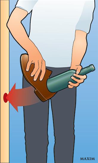 3 способа открыть вино без штопора
