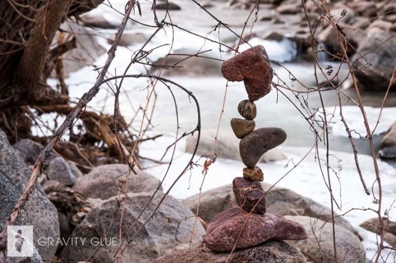 Медитирующие камни Майкла Грэба