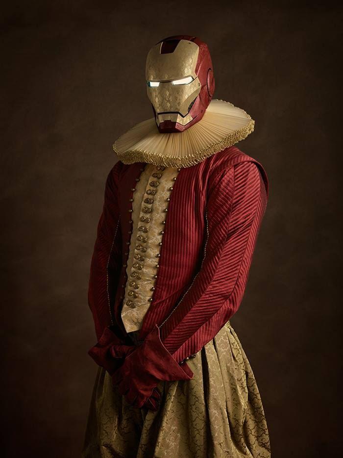 Если бы герои комиксов жили в XVI веке