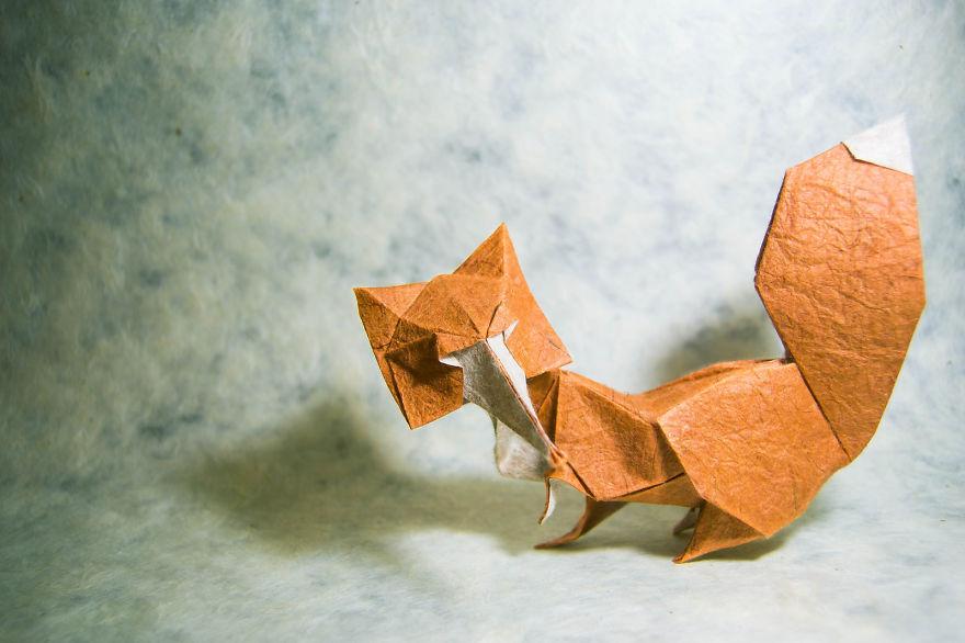 Шедевры  оригами