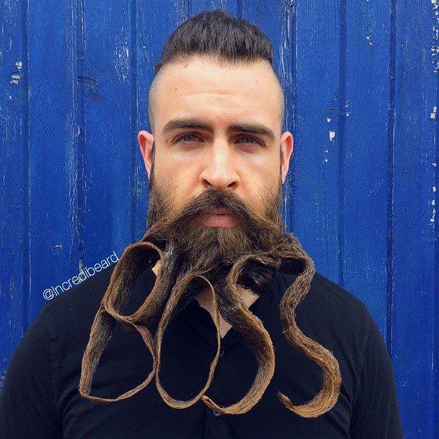 Скульптуры из бороды