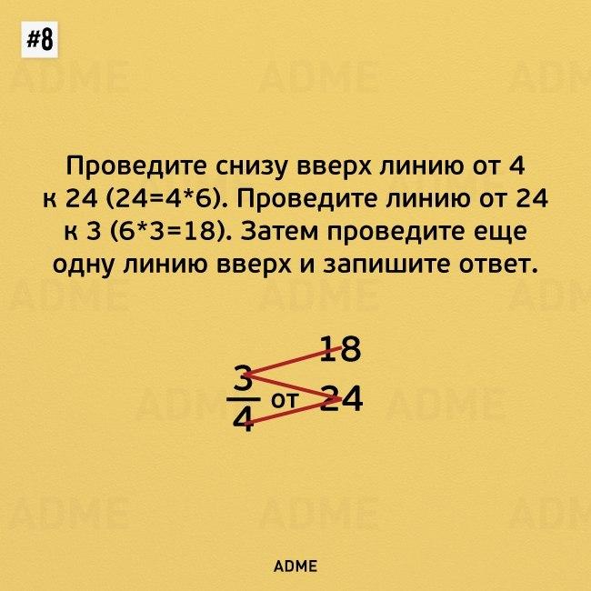 Математические трюки
