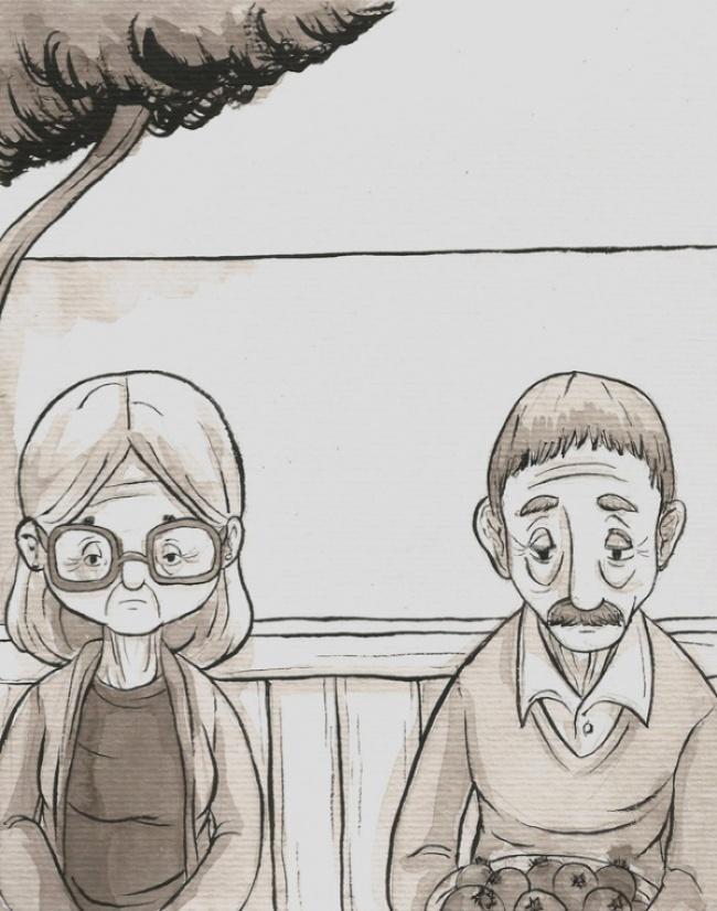 Комикс про быстротечность жизни