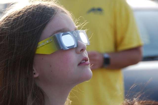 Как безопасно наблюдать за солнечным затмением?