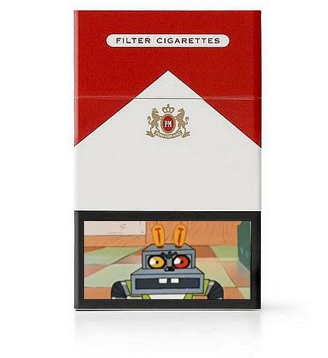 По-настоящему страшные картинки на сигаретных пачках