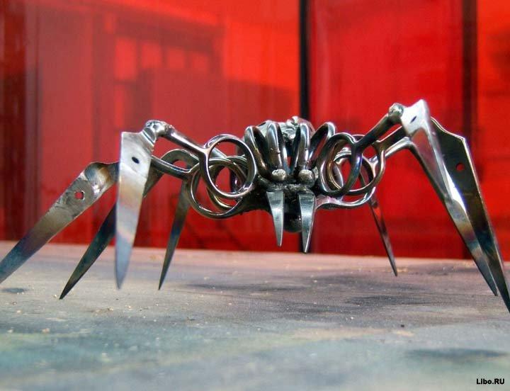 Поделки из ножниц
