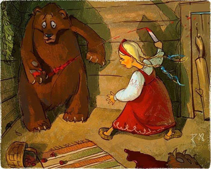 Машенька и медведи