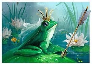 королева.  Царевна лягушка - верхушка матриархального строения власти среди жителей болот и канализаций.