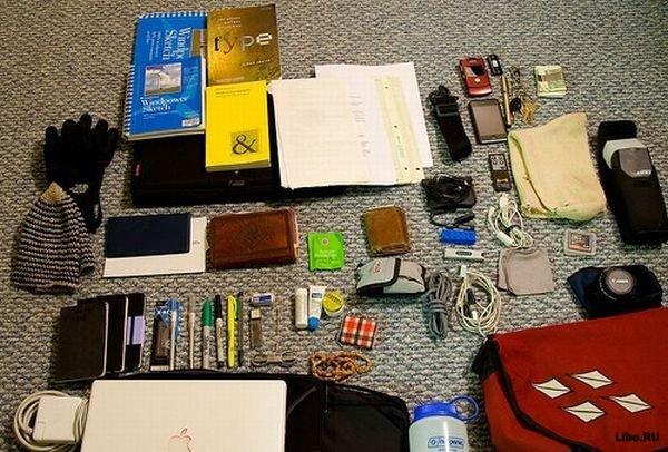 Содержимое женской сумочки (14 фотографии), photo:2. Фото 2, Содержимое...