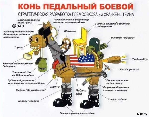 Конь педальный боевой :)