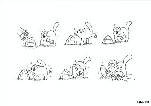 Simon's Cat комиксы