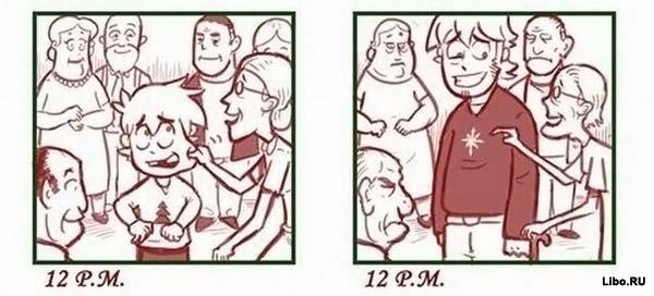 Новый год тогда и теперь