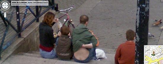 Забавные моменты Google Street View