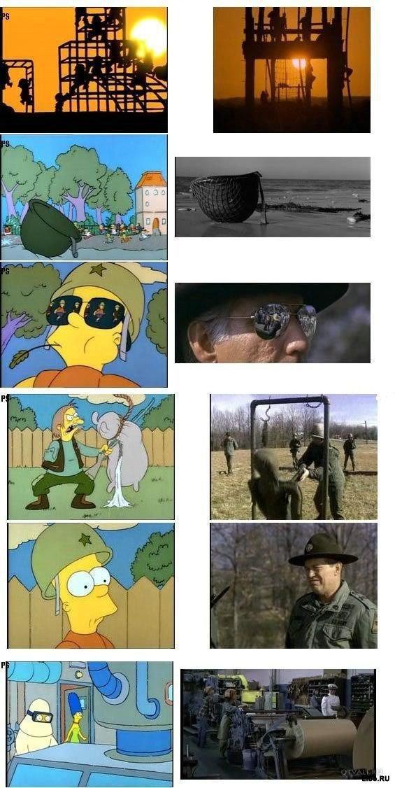 Симпсоны и классика кино