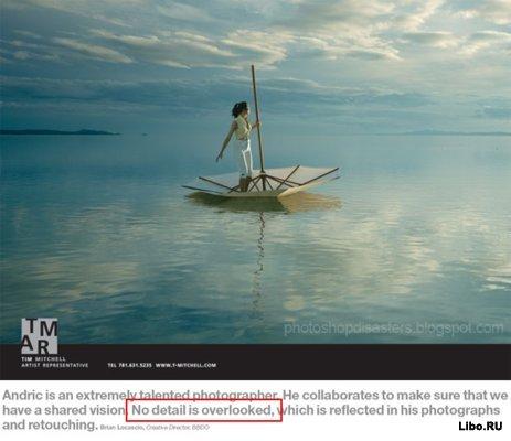 Нелепости в дизайне рекламы