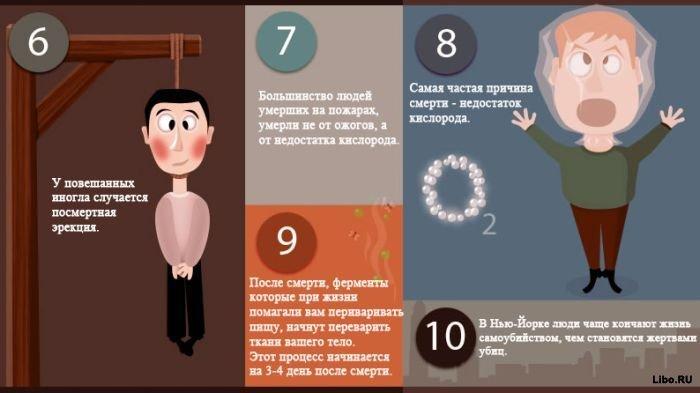 10 фактов о смерти