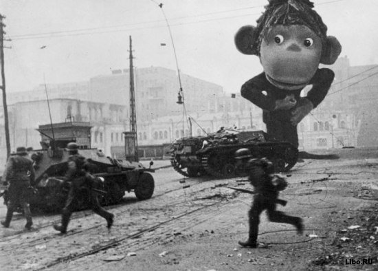 Мультяшки на войне