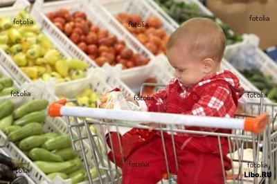 Как развлечь ребенка в супермаркете