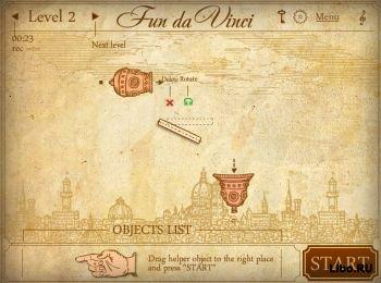 Игра Fun Da Vinci