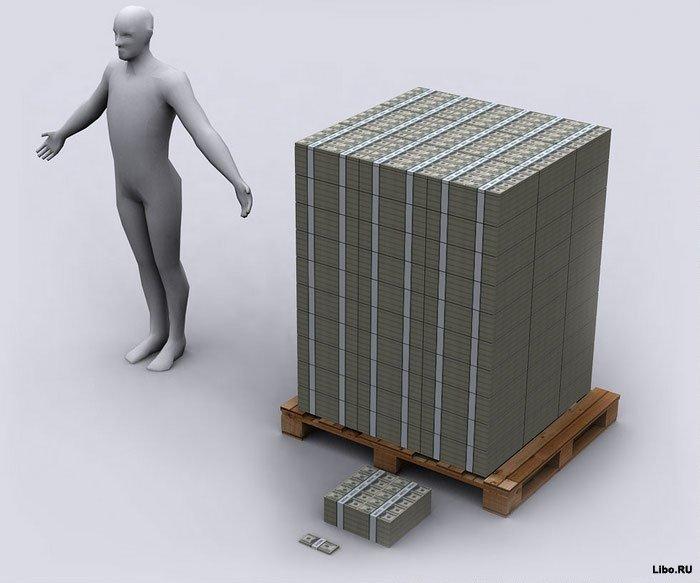 Американский долг в картинках