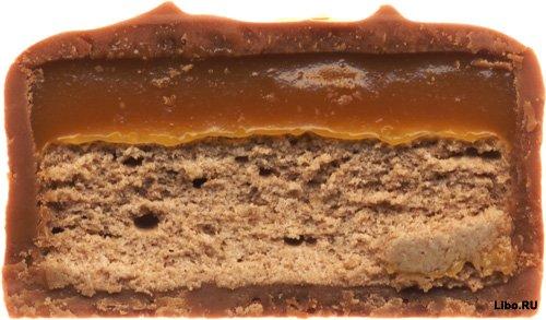 Шоколад в разрезе