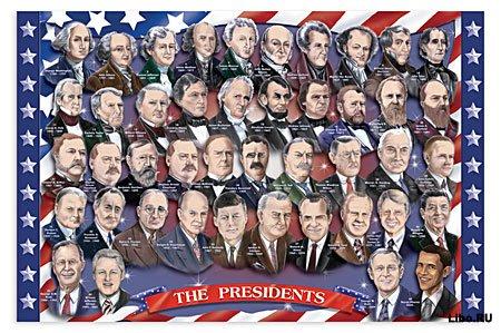 Интересные факты об американских президентах