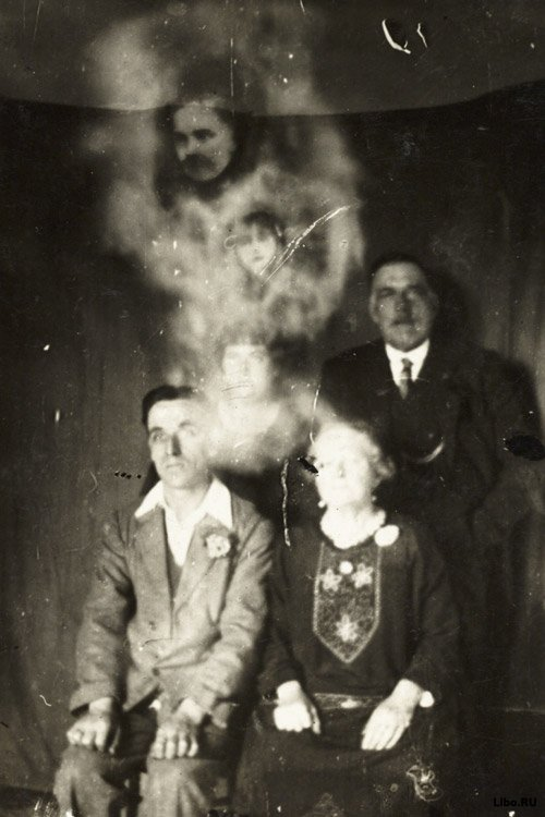 Фотографии призраков