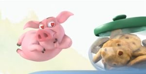 Мультфильм Ormie the Pig
