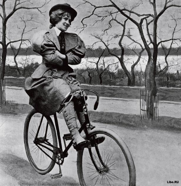 Правила этикета для женщин на велосипеде