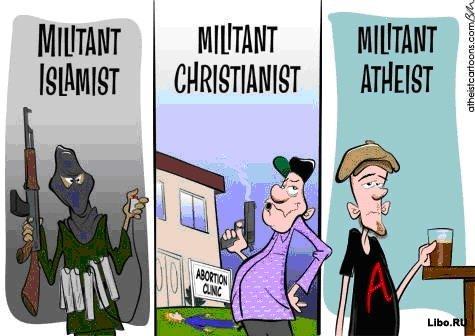 Тринадцать цитат известных атеистов