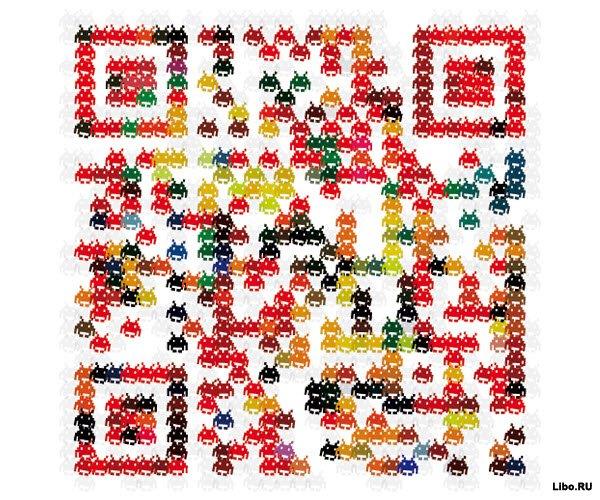 40 оригинальных QR-кодов