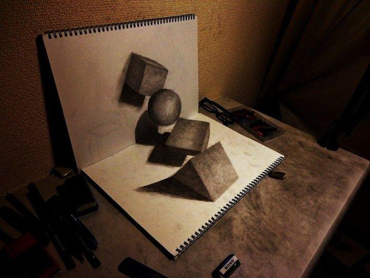 Как сделать красивые рисунки на бумагах