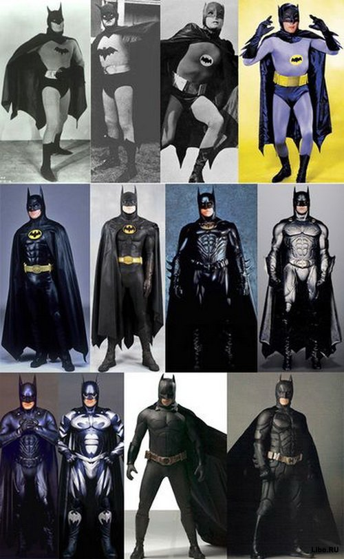 Бетмен в деталях