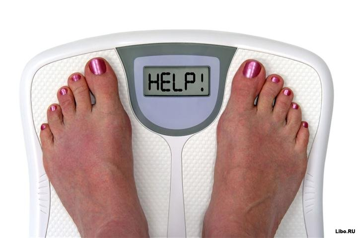 Лишние килограммы после праздников