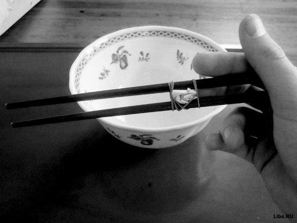 Как пользоваться палочками для еды, как профессионал