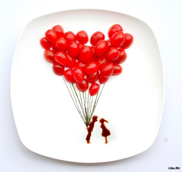 Кулинарный художник Hong Yi