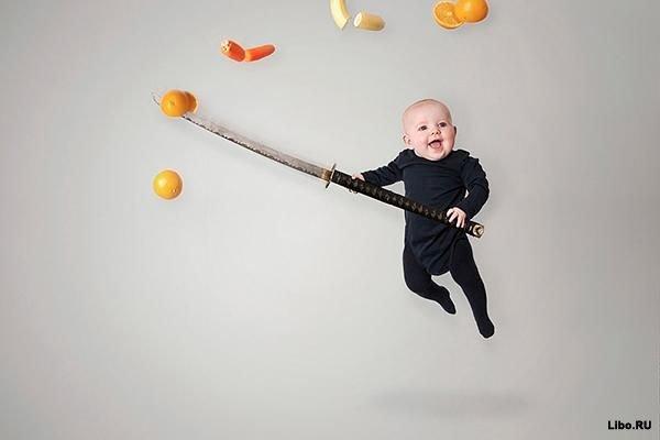 Хулиганские приключения одного младенца