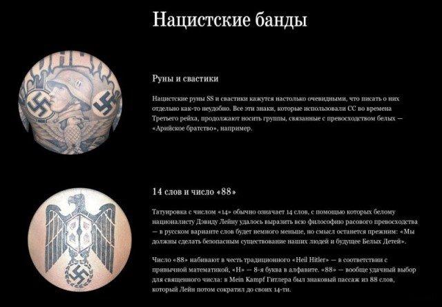 Культура американских тюремных тату